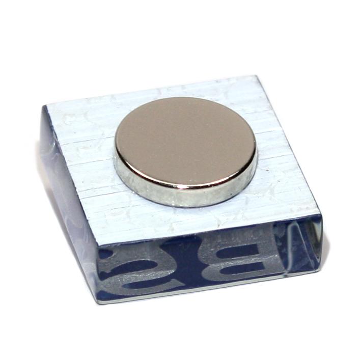 magnet auge herz l we glas dkl blau. Black Bedroom Furniture Sets. Home Design Ideas